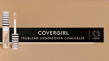CoverGirl TruBlend Matte Made Foundation TV Spot, 'Transfer Resistant: Concealer' - Thumbnail 9