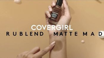 CoverGirl TruBlend Matte Made Foundation TV Spot, 'Transfer Resistant: Concealer' - Thumbnail 1