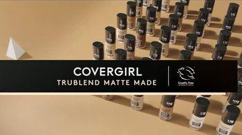 CoverGirl TruBlend Matte Made Foundation TV Spot, 'Transfer Resistant: Concealer' - Thumbnail 5
