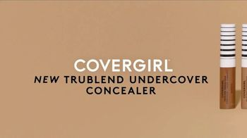 CoverGirl TruBlend Matte Made Foundation TV Spot, 'Transfer Resistant: Concealer' - Thumbnail 6