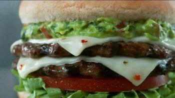 Carl's Jr. Guacamole Double Cheeseburger TV Spot, 'Decimal Point' - Thumbnail 1