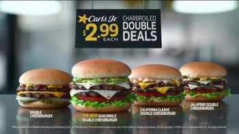 Carl's Jr. Guacamole Double Cheeseburger TV Spot, 'Decimal Point' - Thumbnail 6