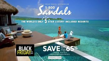 Sandals Resorts Black Friday in July TV Spot, 'What Is Luxury?' - Thumbnail 8