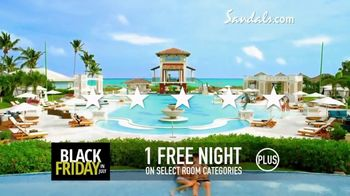 Sandals Resorts Black Friday in July TV Spot, 'What Is Luxury?' - Thumbnail 7