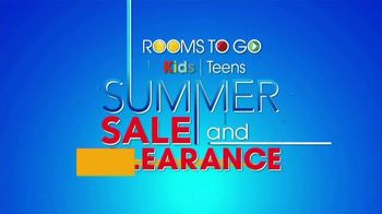 Rooms to Go Kids & Teens Summer Sale and Clearance TV Spot, 'Back to School Bonus Buy: Daybed' - Thumbnail 1