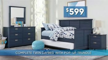 Rooms to Go Kids & Teens Summer Sale and Clearance TV Spot, 'Back to School Bonus Buy: Daybed' - Thumbnail 3