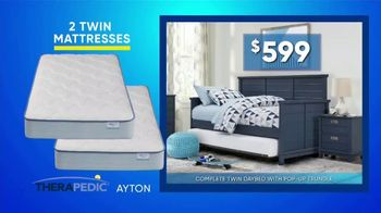Rooms to Go Kids & Teens Summer Sale and Clearance TV Spot, 'Back to School Bonus Buy: Daybed' - Thumbnail 4