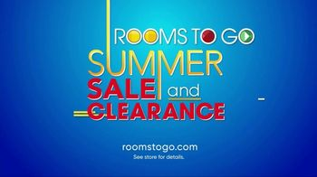 Rooms to Go Summer Sale and Clearance TV Spot, 'Room After Room' - Thumbnail 7