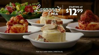 Olive Garden Lasagna Mia TV Spot, 'Roll Out' - Thumbnail 8
