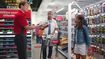 Office Depot TV Spot, 'Back to School: Some Pens? Get All the Pens: Backpacks'