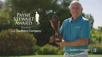 Southern Company TV Spot, '2019 Payne Stewart Award' Featuring Hale Irwin - 102 commercial airings