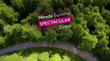 Honda Summer Spectacular Event TV Spot, 'One Tank Trips Sweepstakes: Adventure Starts' [T2] - Thumbnail 1