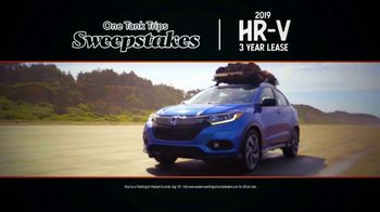 Honda Summer Spectacular Event TV Spot, 'One Tank Trips Sweepstakes: Adventure Starts' [T2] - Thumbnail 5