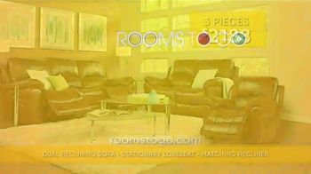 Rooms to Go Summer Sale and Clearance TV Spot, 'Luxurious Living Room Set' - Thumbnail 7