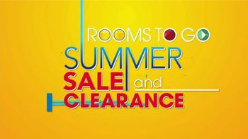 Rooms to Go Summer Sale and Clearance TV Spot, 'Luxurious Living Room Set' - Thumbnail 1