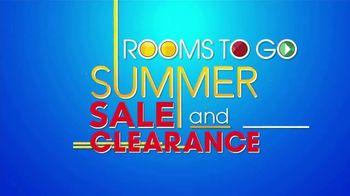 Rooms to Go Summer Sale and Clearance TV Spot, 'Dining Set Savings' - Thumbnail 2