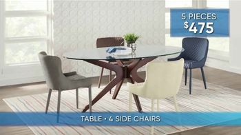Rooms to Go Summer Sale and Clearance TV Spot, 'Dining Set Savings' - Thumbnail 3