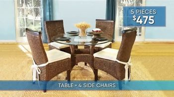 Rooms to Go Summer Sale and Clearance TV Spot, 'Dining Set Savings' - Thumbnail 4