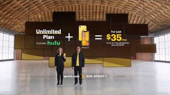 Sprint Unlimited Plan TV Spot, 'Go On: Hulu' - 449 commercial airings