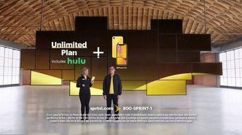 Sprint Unlimited Plan TV Spot, 'Go On: Hulu' - Thumbnail 2