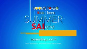 Rooms to Go Kids & Teens Summer Sale and Clearance TV Spot, 'Back to School Savings' - Thumbnail 7