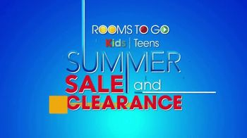 Rooms to Go Kids & Teens Summer Sale and Clearance TV Spot, 'Back to School Savings' - Thumbnail 1