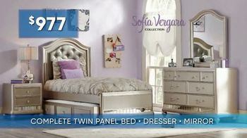 Rooms to Go Kids & Teens Summer Sale and Clearance TV Spot, 'Back to School Savings' - Thumbnail 4