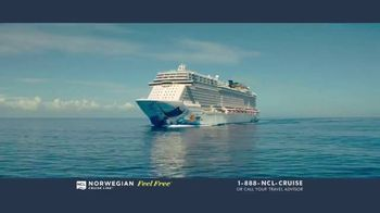 Norwegian Cruise Line Free at Sea TV Spot, 'Five Free: From $199' Song by Andy Grammer - Thumbnail 1