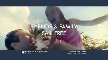 Norwegian Cruise Line Free at Sea TV Spot, 'Five Free: From $199' Song by Andy Grammer - Thumbnail 5