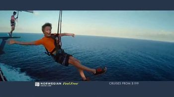 Norwegian Cruise Line Free at Sea TV Spot, 'Five Free: From $199' Song by Andy Grammer - Thumbnail 7