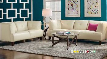 Rooms to Go Summer Sale and Clearance TV Spot, 'Sofa, Loveseat or Sectional' - Thumbnail 2