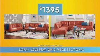 Rooms to Go Summer Sale and Clearance TV Spot, 'Sofa, Loveseat or Sectional' - Thumbnail 5