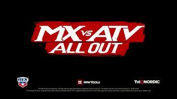 MX vs ATV All Out TV Spot, 'AMA Pro Motocross Championship Tracks' Song by Asking Alexandria - Thumbnail 9