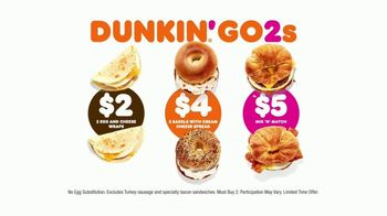 Dunkin' Donuts Go2s TV Spot, 'Sandwiches, Bagels or Mix and Match' - Thumbnail 10