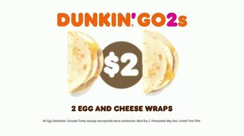 Dunkin' Donuts Go2s TV Spot, 'Sandwiches, Bagels or Mix and Match' - Thumbnail 5