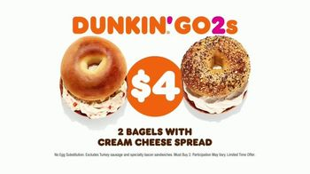 Dunkin' Donuts Go2s TV Spot, 'Sandwiches, Bagels or Mix and Match' - Thumbnail 6