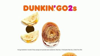 Dunkin' Donuts Go2s TV Spot, 'Sandwiches, Bagels or Mix and Match' - Thumbnail 9