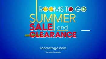Rooms to Go Summer Sale and Clearance TV Spot, 'Low Prices' - Thumbnail 6