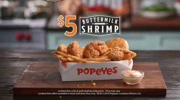 Popeyes $5 Buttermilk Shrimp TV Spot, 'So Big You Wouldn't Dare Call Them Shrimp' - Thumbnail 10