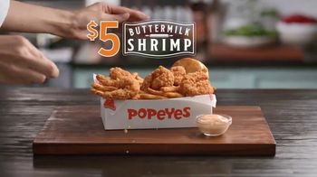 Popeyes $5 Buttermilk Shrimp TV Spot, 'So Big You Wouldn't Dare Call Them Shrimp' - Thumbnail 2