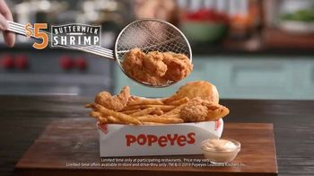Popeyes $5 Buttermilk Shrimp TV Spot, 'So Big You Wouldn't Dare Call Them Shrimp' - Thumbnail 9