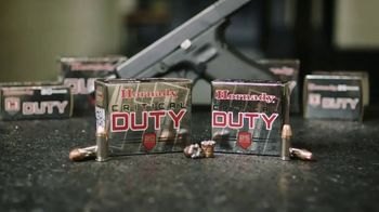 Hornady Critical Duty TV Spot, 'Trusted by Law Enforcement' - Thumbnail 9