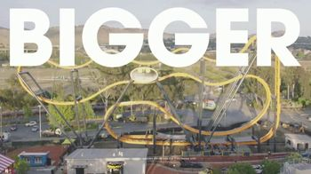 Six Flags Discovery Kingdom TV Spot, 'Bigger, Faster, Wilder' - Thumbnail 1