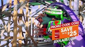 Six Flags Discovery Kingdom TV Spot, 'Bigger, Faster, Wilder' - Thumbnail 8