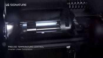 LG Signature TV Spot, 'Art Inspires Technology: Refrigerator' - Thumbnail 5