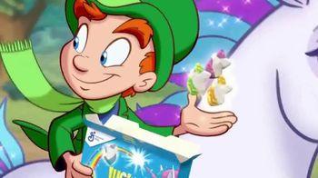 Lucky Charms Frosted Flakes TV Spot, 'Ahora con tres unicornios nuevos' [Spanish]