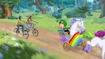 Lucky Charms Frosted Flakes TV Spot, 'Ahora con tres unicornios nuevos' [Spanish] - 1098 commercial airings
