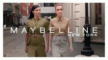 Maybelline New York Brow Ultra Slim TV Spot, 'Cejas definidas con precisión' con Adriana Lima [Spanish] - 278 commercial airings