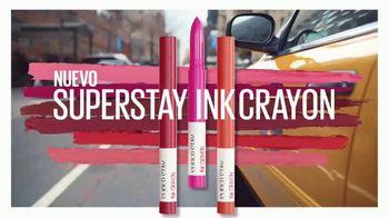 Maybelline New York SuperStay Ink Crayon TV Spot, 'Punta de precisión' [Spanish] - Thumbnail 9