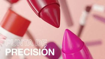 Maybelline New York SuperStay Ink Crayon TV Spot, 'Punta de precisión' [Spanish] - Thumbnail 5